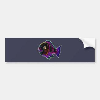 Parrotfish Bumper Sticker