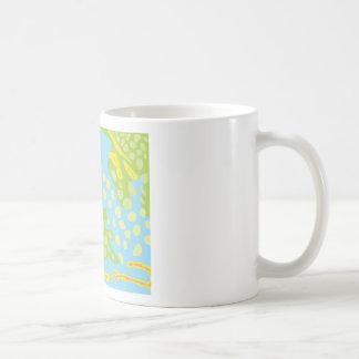 Parrotfish Scales Pattern Coffee Mug