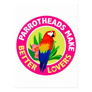 Parrotheads hace mejores amantes a Buffett Postal