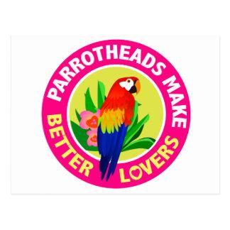 Parrotheads Make Better Lovers Buffett Postcard