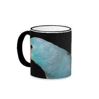 Parrotlet Blue Pacific Parrotlet Ringer Cup Coffee Mugs
