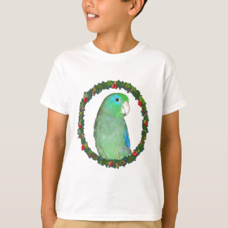 Parrotlet Christmas wreath T-Shirt