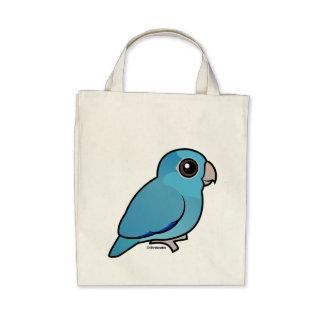 Parrotlet pacífico azul bolsas