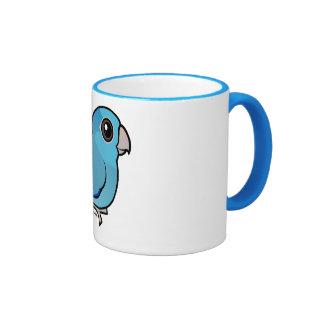 Parrotlet pacífico azul taza