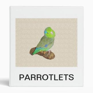 Parrotlets Binder