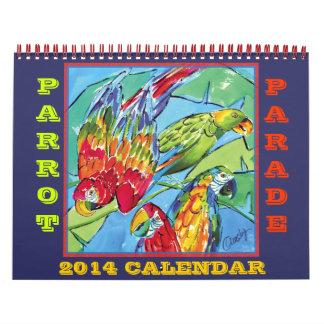 Parrots 2014 Calendar