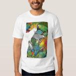 Parrots and Bromeliads T Shirt