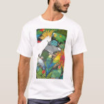 Parrots and Bromeliads T Shirt