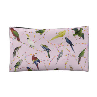 Parrots and Candy Cosmetic Bag