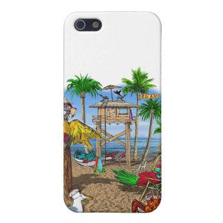 Parrots Beach Party iPhone SE/5/5s Cover