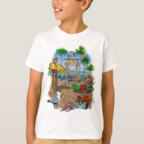 Parrots Beach Party T-Shirt