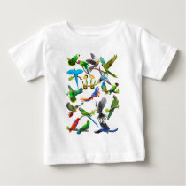 Parrots Galore Baby T-Shirt