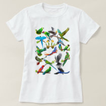 Parrots Galore T-Shirt