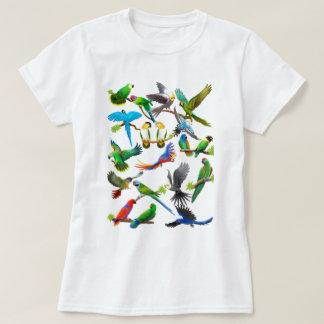 Parrots Galore Tee Shirt
