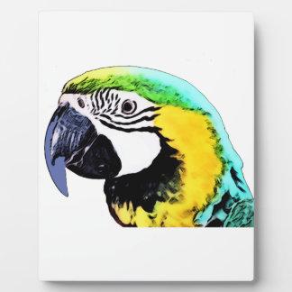 Parrot's Head Plaque