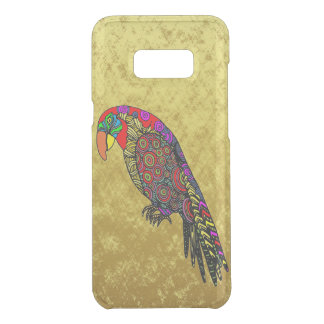 Parrots in yellow red green blue gold uncommon samsung galaxy s8+ case