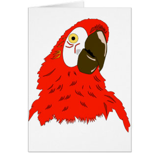 Parrot's lover card