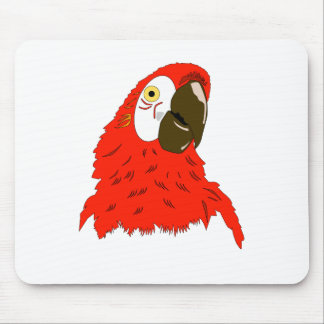 Parrot's lover mouse pad