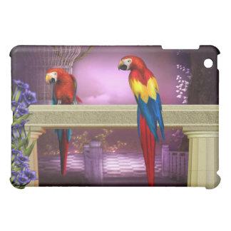 Parrots Macaw Secret Garden iPad Mini Cases