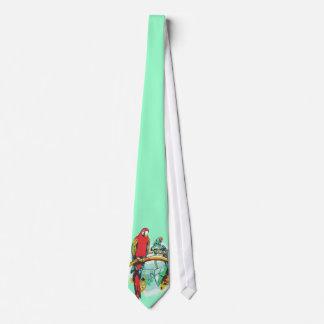 Parrots Neck Tie