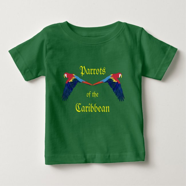Parrots of the Caribbean Green