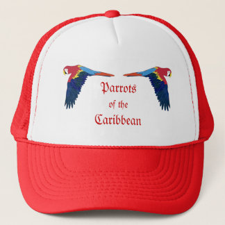 Parrots of the Caribbean Trucker Hat