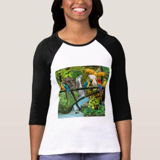 Parrots of the Hidden Jungle T-Shirt