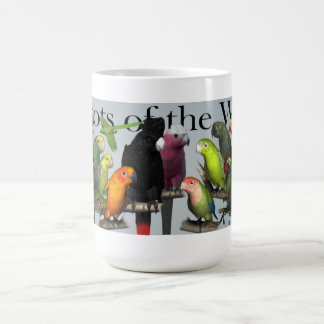 Parrots of the World Mug