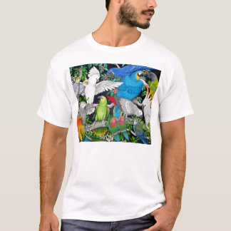 Parrots of the World T Shirt