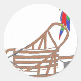 ParrotSleds Logo Classic Round Sticker