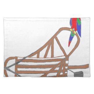ParrotSleds Logo Cloth Placemat