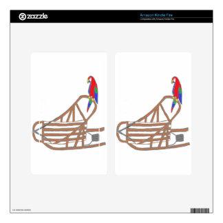 ParrotSleds Logo Kindle Fire Decals