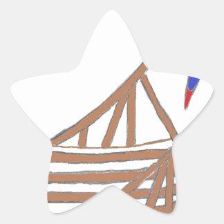 ParrotSleds Logo Star Sticker