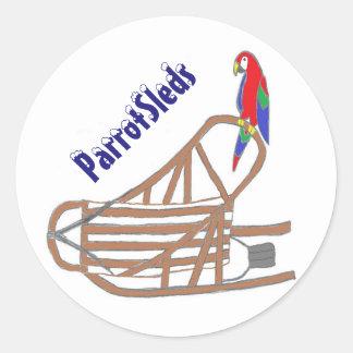 ParrotSleds logo stickers