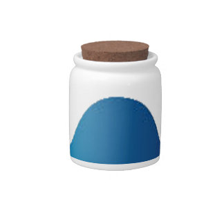 ParrotSleds - Tarheel logo Candy Jar