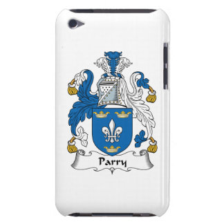 Parry Family Crest Barely There iPod Covers