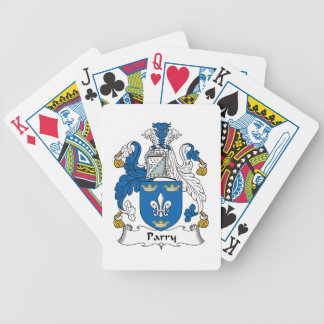 Parry Family Crest Bicycle Poker Deck