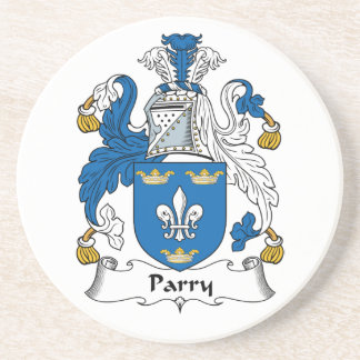 Parry Family Crest Coaster