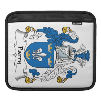 Parry Family Crest iPad Sleeves