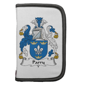 Parry Family Crest Organizers