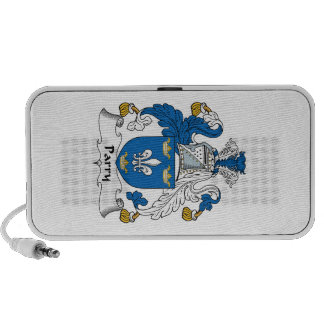 Parry Family Crest PC Speakers
