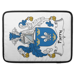 Parry Family Crest Sleeves For MacBooks
