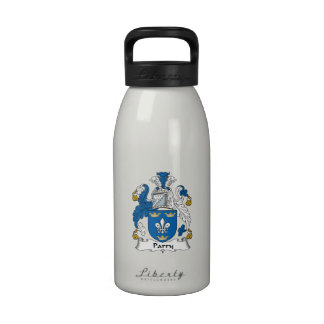 Parry Family Crest Water Bottles
