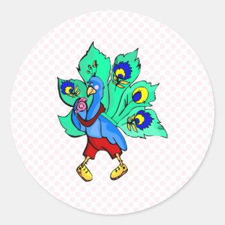 Parry Peacock Sticker