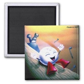 parryslide 2 inch square magnet