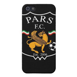 Pars FC Black iPhone SE/5/5s Case