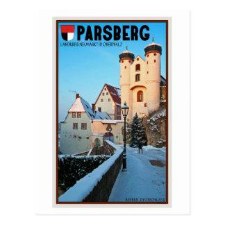 Parsberg - Castle Winter Postcard