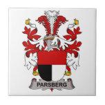 Parsberg Family Crest Ceramic Tile