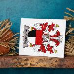 Parsberg Family Crest Photo Plaque