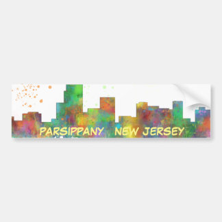 PARSIPPANY, NEW JERSEY BUMPER STICKER